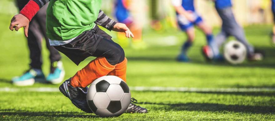 Jalkapallo kesäkuva